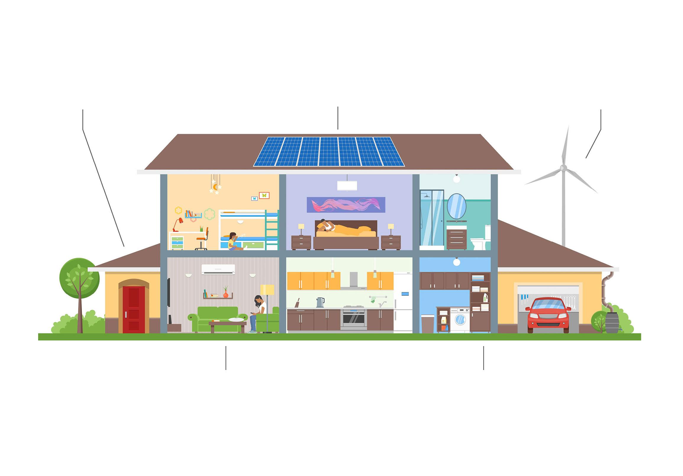 progetto casa eco